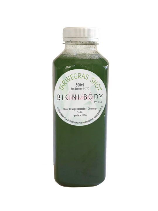 Bikinibody fatburn tarwegras - wheatgrass shot