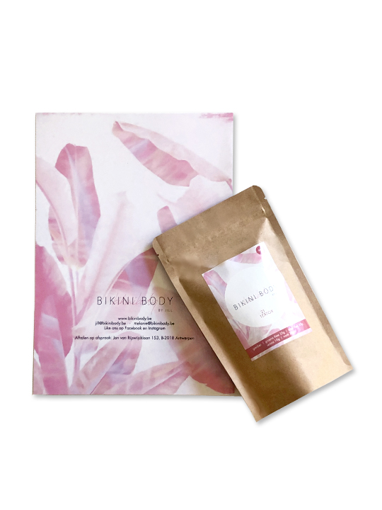 Bikinibody New Me package: nutrition plan and Teatox