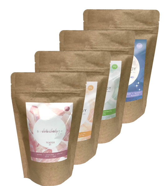Bikinibody Teatox herbal infusions for a perfect bikinibody