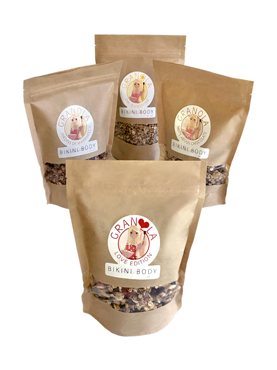 Bikinibody granola on a regular basis.