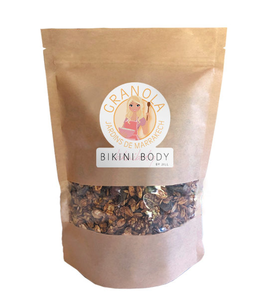 Bikinibody Jardis de Marrakech granola, well balanced for your perfect bikinibody