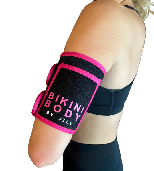 Bikinibody arm-trainer - sweatband - weightloss